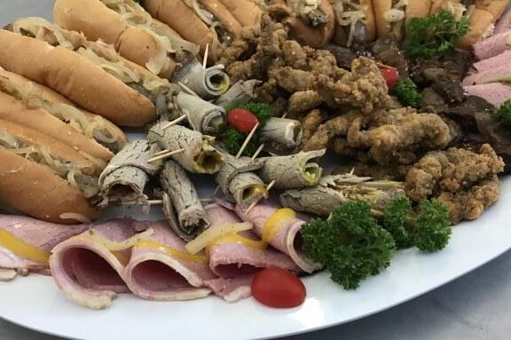 beef spread platter