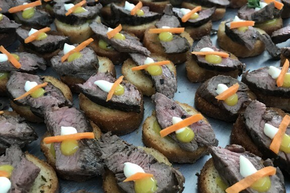 canape platter