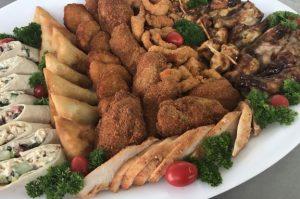 chicken spread platter