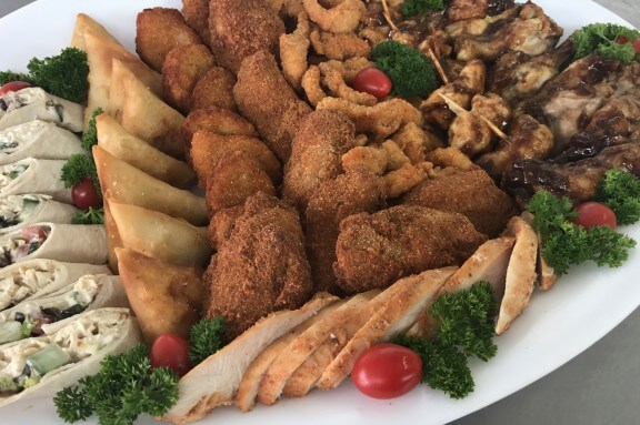 chicken spread platter