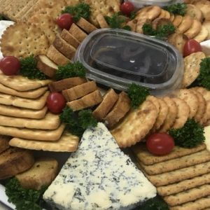 executive cheese platter