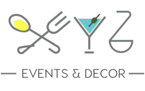 XYZ events and decor logo